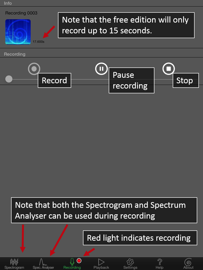 SpectrumView-Record