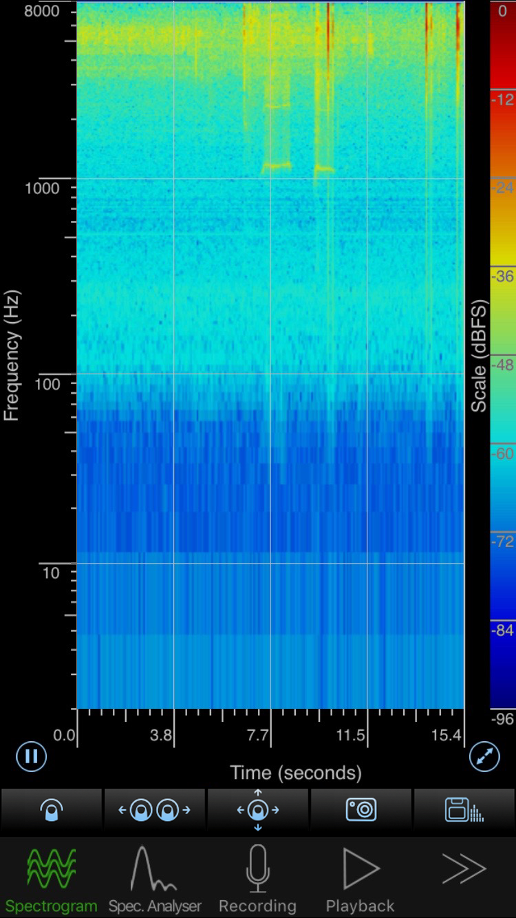 SpectrumView - Logarithmic Spectrogram View